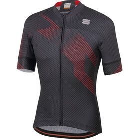 Sportful Bodyfit Team 2.0 Faster Jersey Men anthracite/red